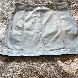 NWOT Wild fable stretch jean skirt